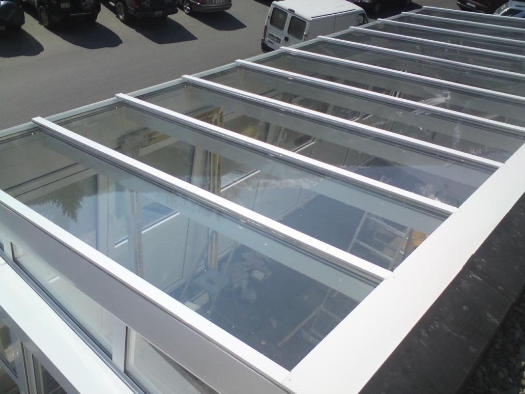 Skylight krov – staklena bašta-privatni stan, Švajcarska-2