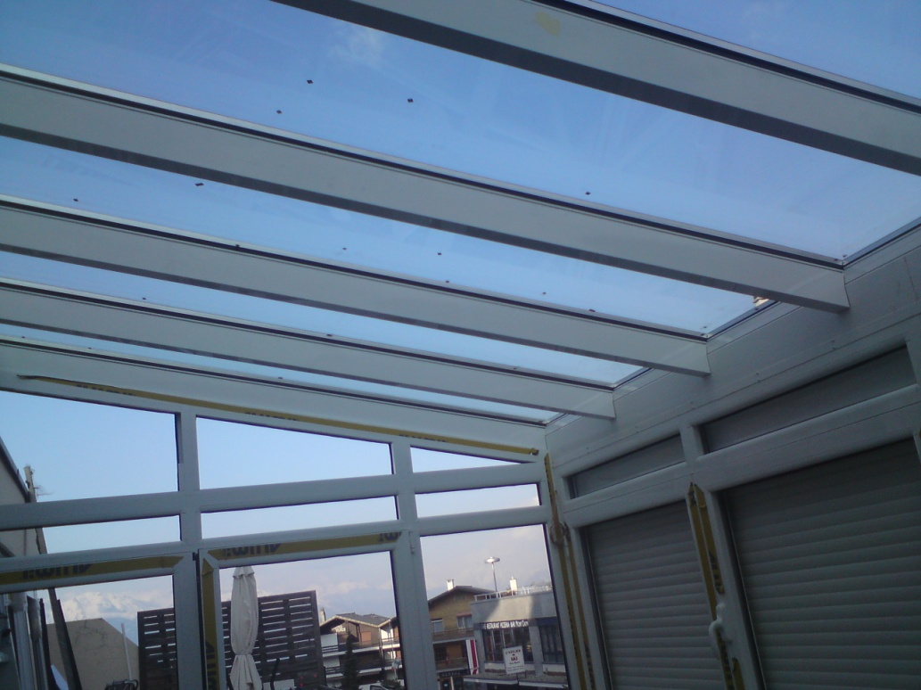 Skylight krov – staklena bašta-privatni stan, Švajcarska-3